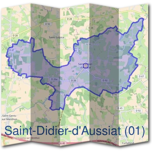 Mairie de Saint-Didier-d'Aussiat (01)