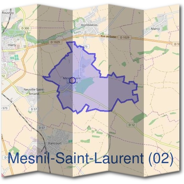 Mairie de Mesnil-Saint-Laurent (02)