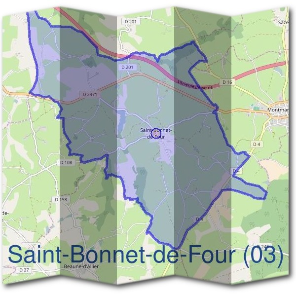 Mairie de Saint-Bonnet-de-Four (03)