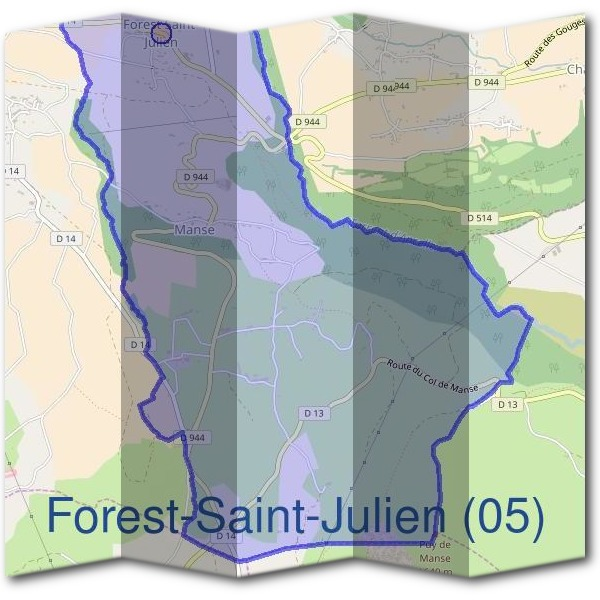 Mairie de Forest-Saint-Julien (05)