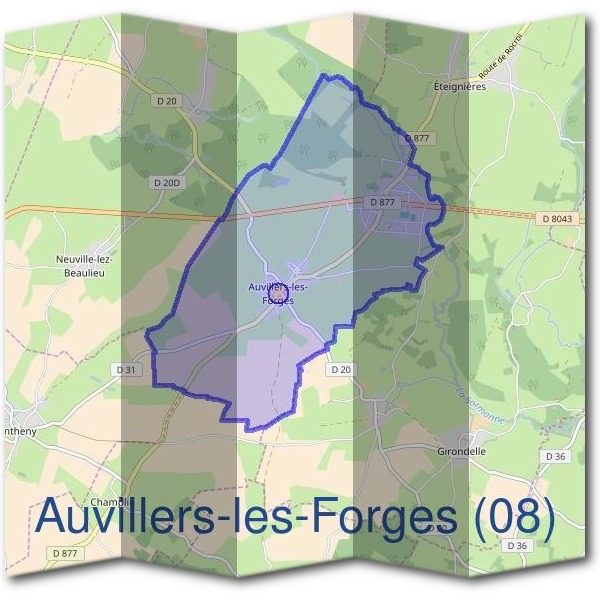 Mairie d'Auvillers-les-Forges (08)