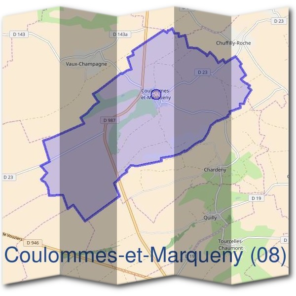Mairie de Coulommes-et-Marqueny (08)