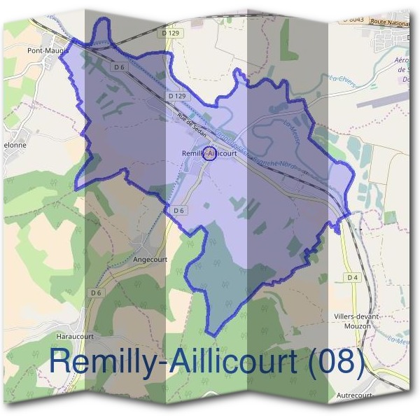 Mairie de Remilly-Aillicourt (08)