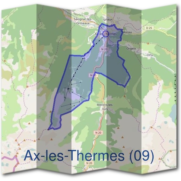 Mairie d'Ax-les-Thermes (09)
