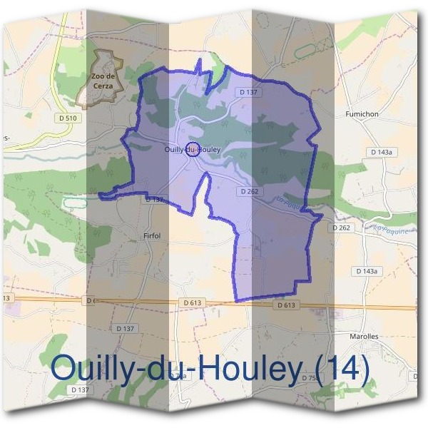 Mairie d'Ouilly-du-Houley (14)