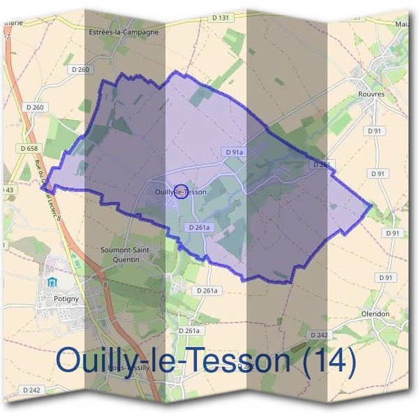 Mairie d'Ouilly-le-Tesson (14)