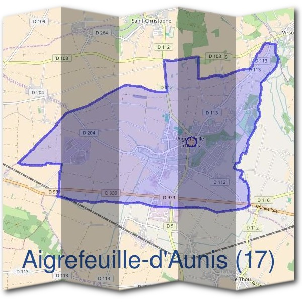 Mairie d'Aigrefeuille-d'Aunis (17)