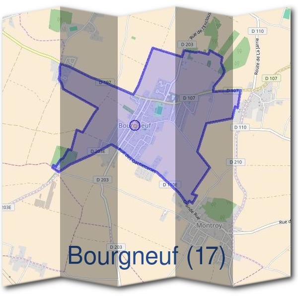 Mairie de Bourgneuf (17)