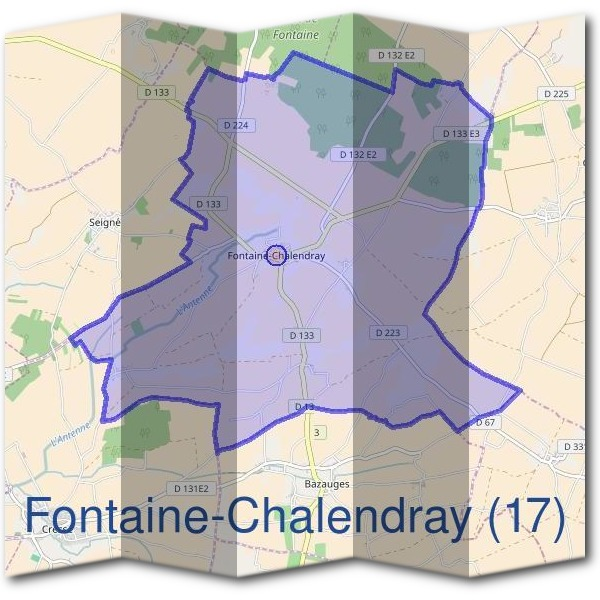 Mairie de Fontaine-Chalendray (17)