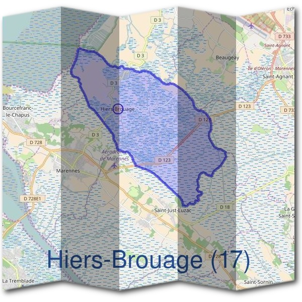 Mairie d'Hiers-Brouage (17)