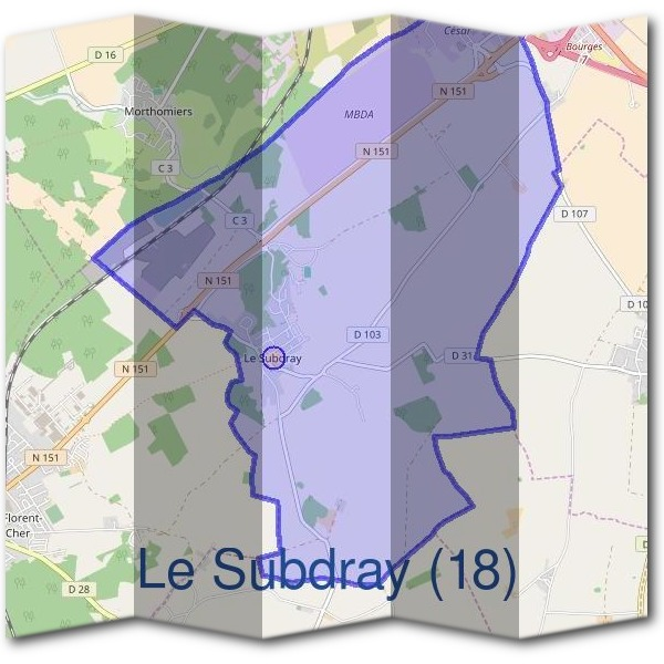 Mairie du Subdray (18)