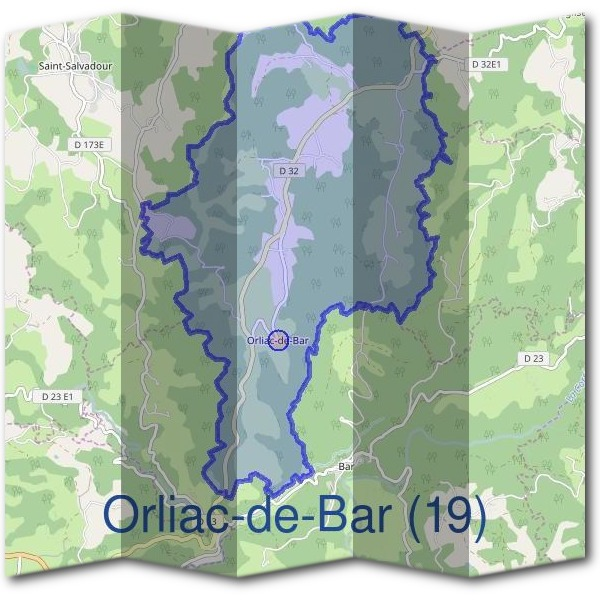 Mairie d'Orliac-de-Bar (19)