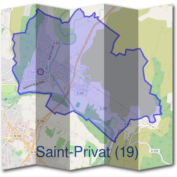Mairie de Saint-Privat (19)