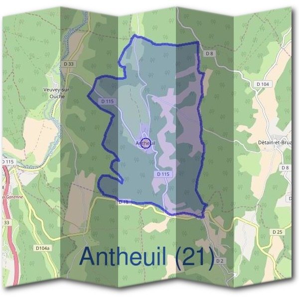 Mairie d'Antheuil (21)