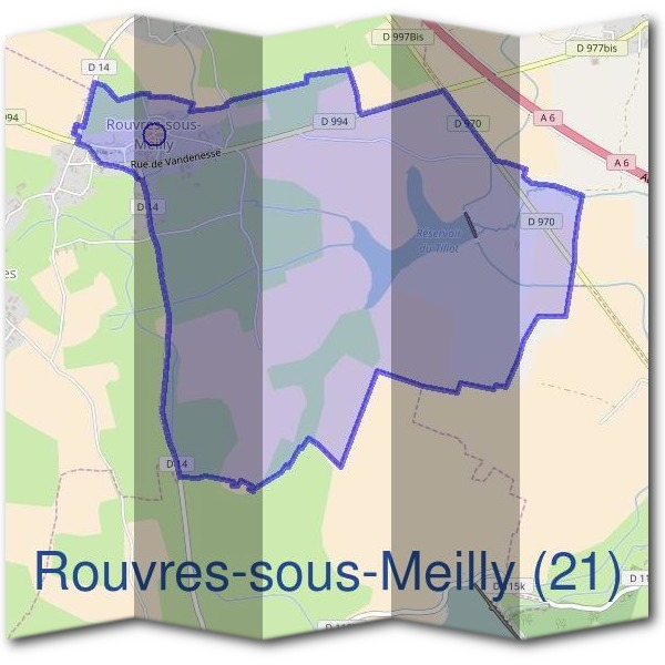 Mairie de Rouvres-sous-Meilly (21)