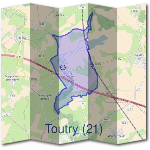 Mairie de Toutry (21)