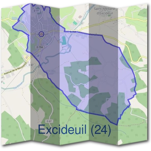 Mairie d'Excideuil (24)