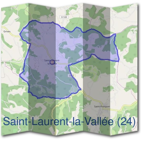 Mairie de Saint-Laurent-la-Vallée (24)