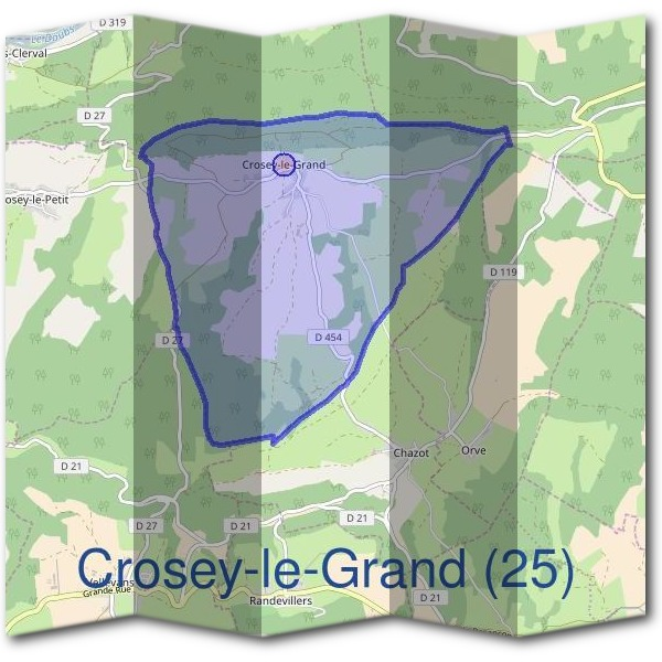Mairie de Crosey-le-Grand (25)