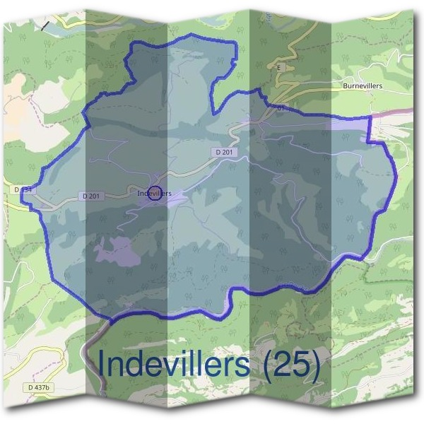 Mairie d'Indevillers (25)