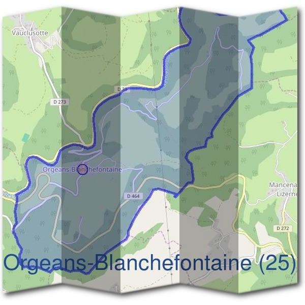 Mairie d'Orgeans-Blanchefontaine (25)