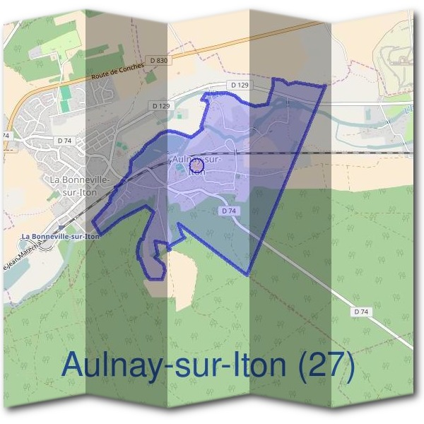 Mairie d'Aulnay-sur-Iton (27)