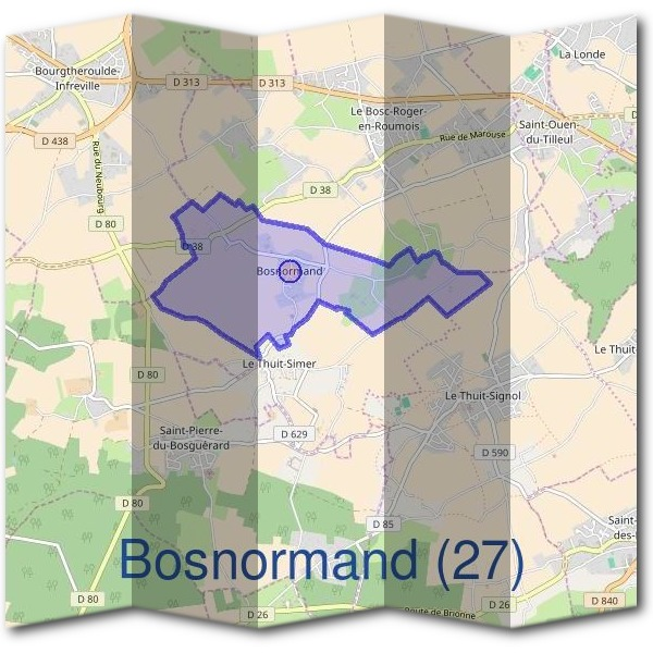 Mairie de Bosnormand (27)