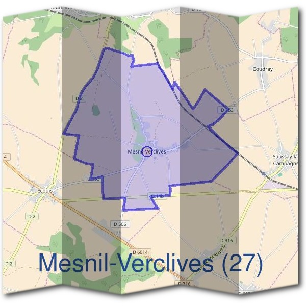 Mairie de Mesnil-Verclives (27)