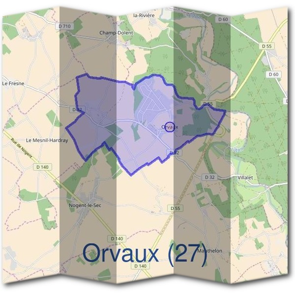 Mairie d'Orvaux (27)