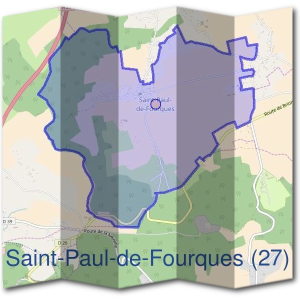 Mairie de Saint-Paul-de-Fourques (27)