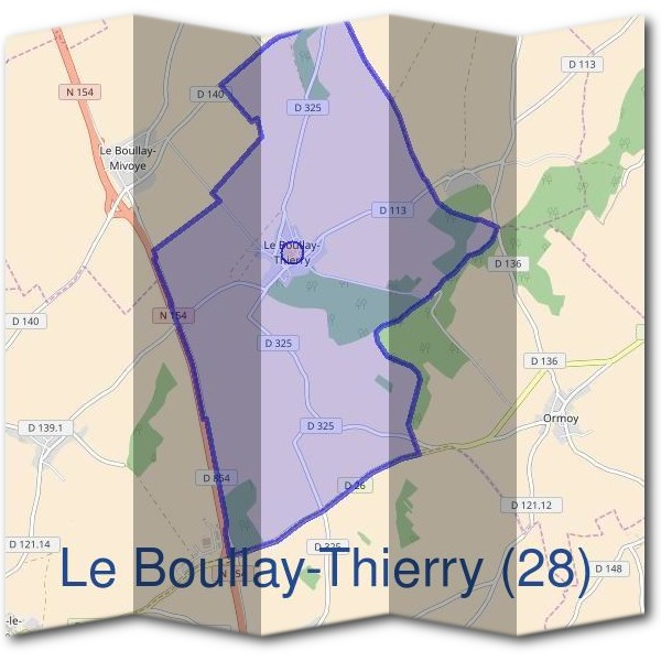 Mairie du Boullay-Thierry (28)