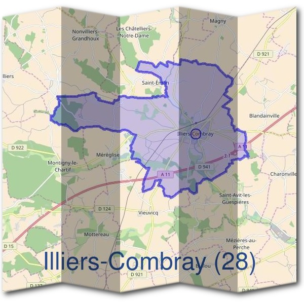 Mairie d'Illiers-Combray (28)