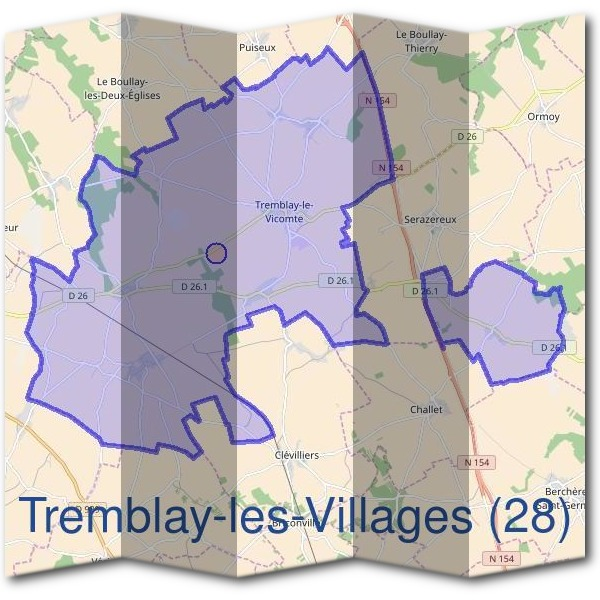 Mairie de Tremblay-les-Villages (28)