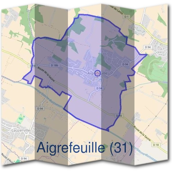 Mairie d'Aigrefeuille (31)