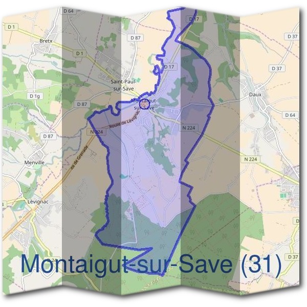 Mairie de Montaigut-sur-Save (31)