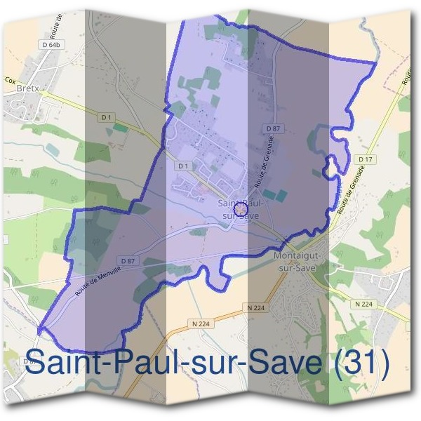 Mairie de Saint-Paul-sur-Save (31)