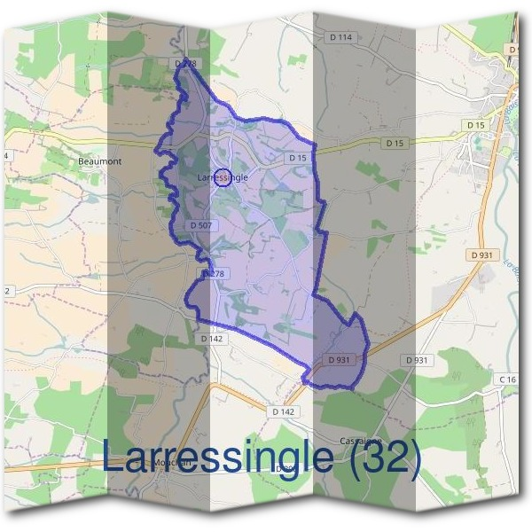 Mairie de Larressingle (32)