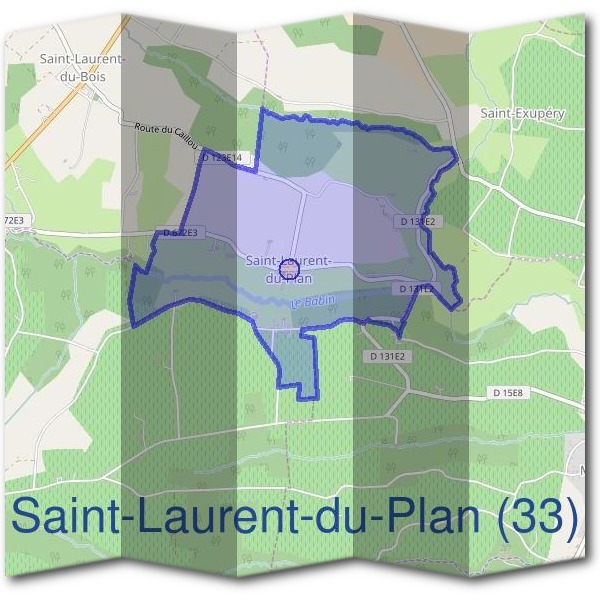 Mairie de Saint-Laurent-du-Plan (33)