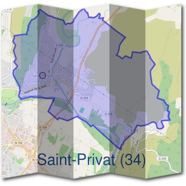 Mairie de Saint-Privat (34)