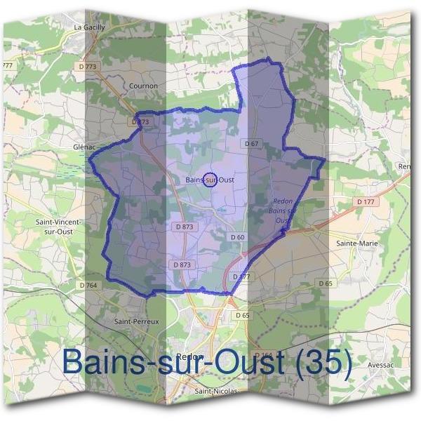 Mairie bains sur oust 35600 d marches en mairie for Bains s oust