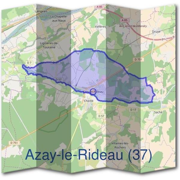 Mairie Azay-le-Rideau (37190) - Démarches en Mairie