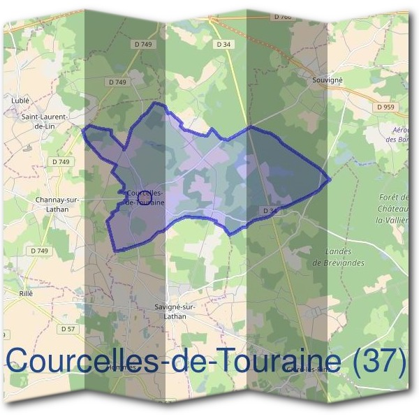Mairie de Courcelles-de-Touraine (37)
