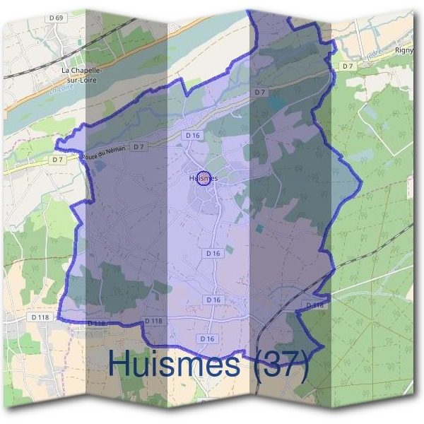 Mairie d'Huismes (37)