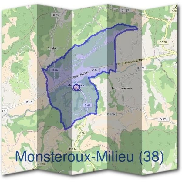 Mairie de Monsteroux-Milieu (38)