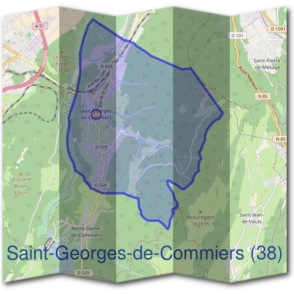 Mairie de Saint-Georges-de-Commiers (38)