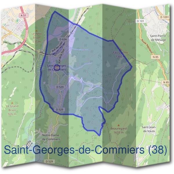 Mairie saint georges de commiers 38450 d marches en mairie for Maison saint georges de commiers