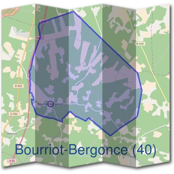 Mairie de Bourriot-Bergonce (40)