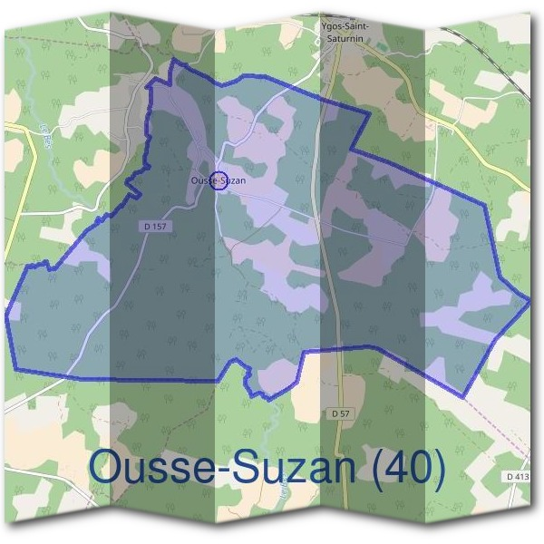 Mairie d'Ousse-Suzan (40)