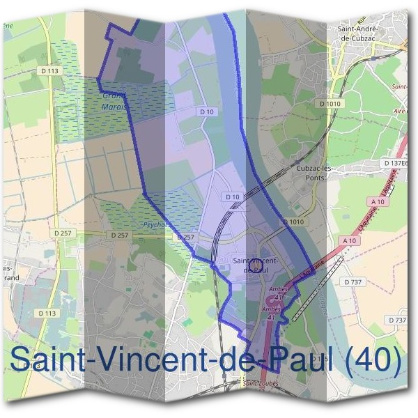 Mairie de Saint-Vincent-de-Paul (40)