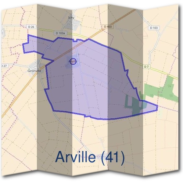 Mairie d'Arville (41)